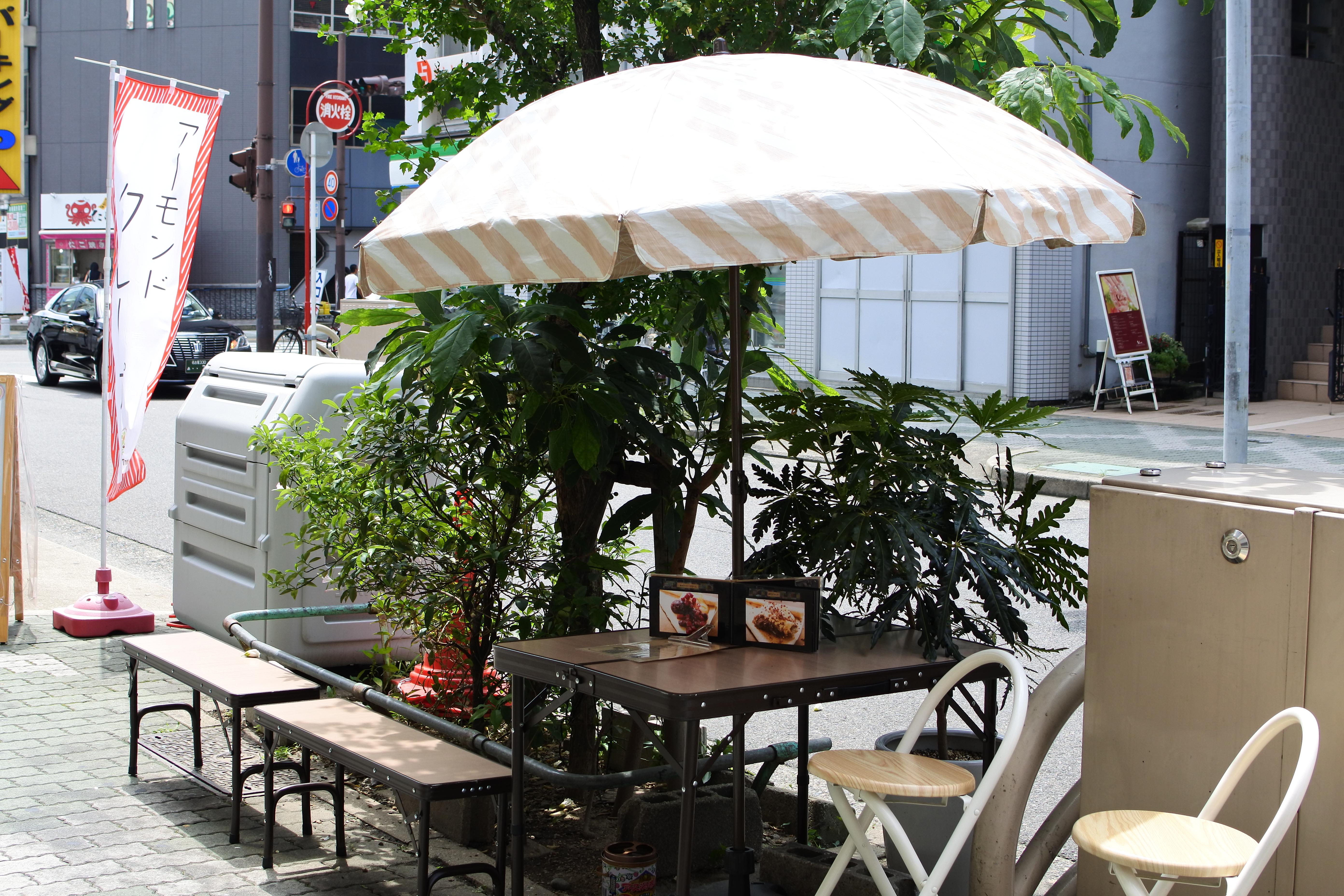 オーガニッククレープ専門店『ブラウンツリー』。自家製ギーで作るバターコーヒーも - DSC 0546