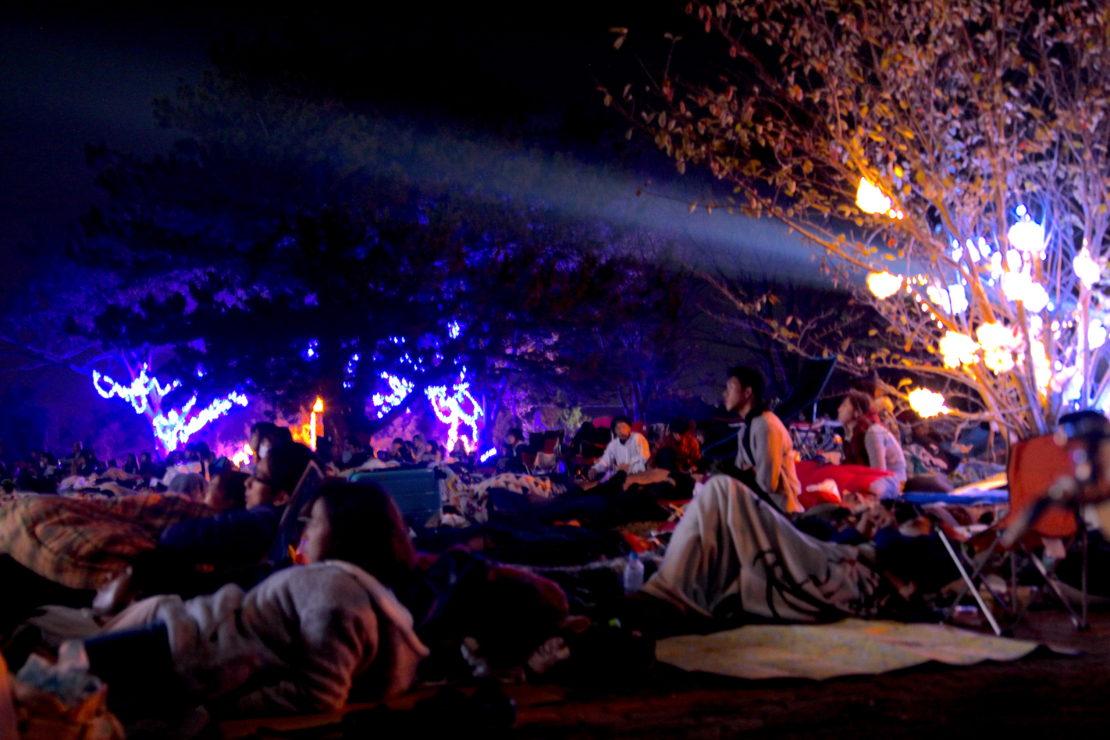夜通し楽める野外映画フェス『夜空と交差する森の映画祭2017』レポート