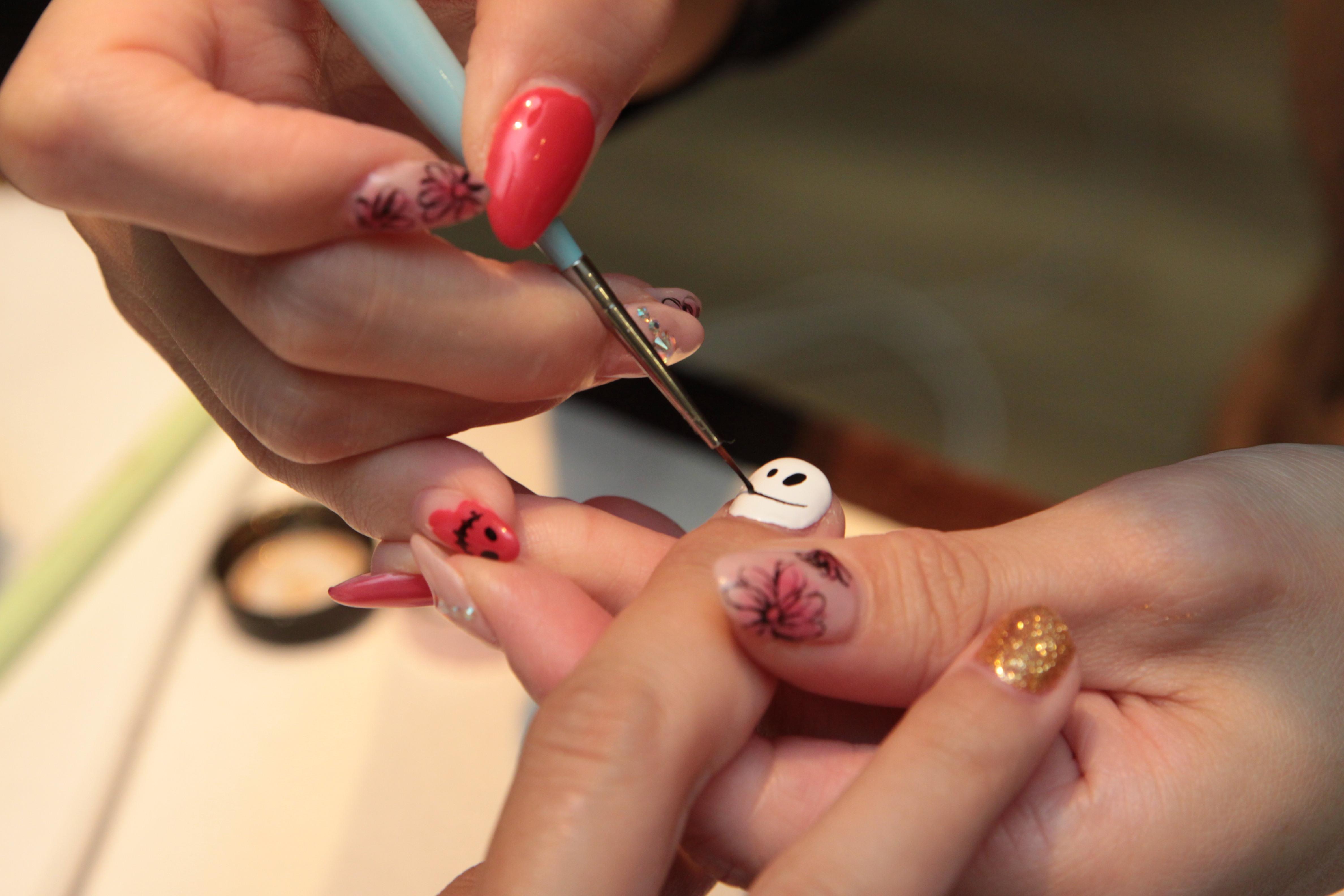 深爪もみるみるうちにキレイに!松坂屋南館「ネイルステーション」でジェルネイルを体験 - IMG 1680