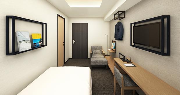 本の世界に没頭できるホテル『ランプライトブックスホテル名古屋』が伏見にオープン - rooms img 01
