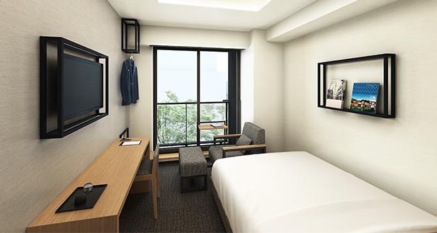 本の世界に没頭できるホテル『ランプライトブックスホテル名古屋』が伏見にオープン - rooms img 04