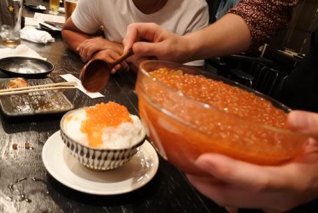 いくらこぼれ飯で大盛況!名古屋にいながら北海道を堪能できる「道南農林水産部」