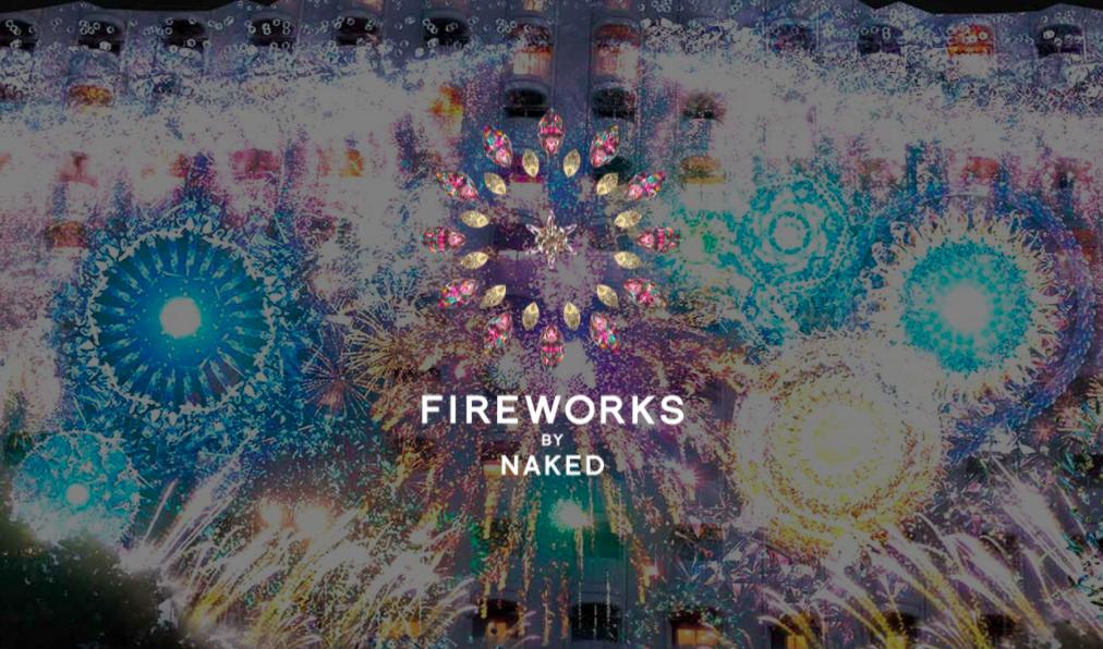 この冬は名古屋港で最新アート『FIREWORKS by NAKED 2017』 - fireworksnaked
