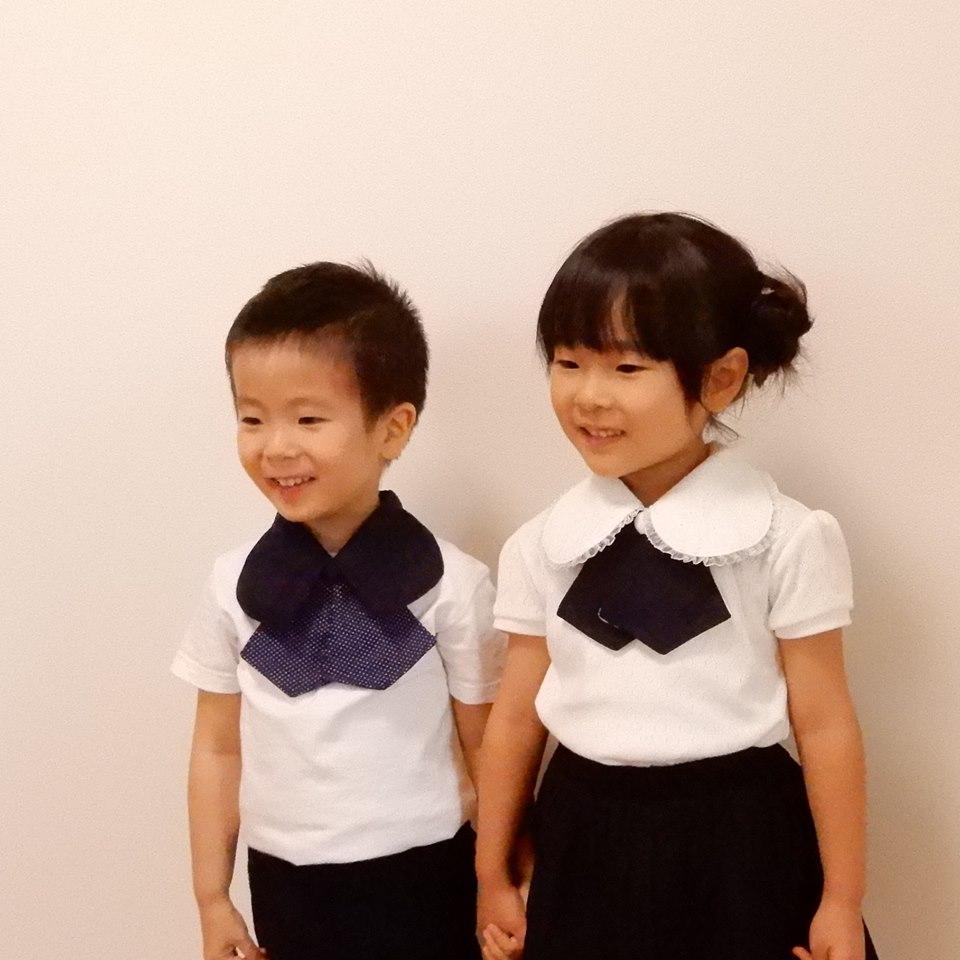 一枚でおしゃれで便利。一瞬で子供服を礼服に変えてしまう襟「スタイエリッシュ」 - 0eb893378f903152affe82b09b54a7c9