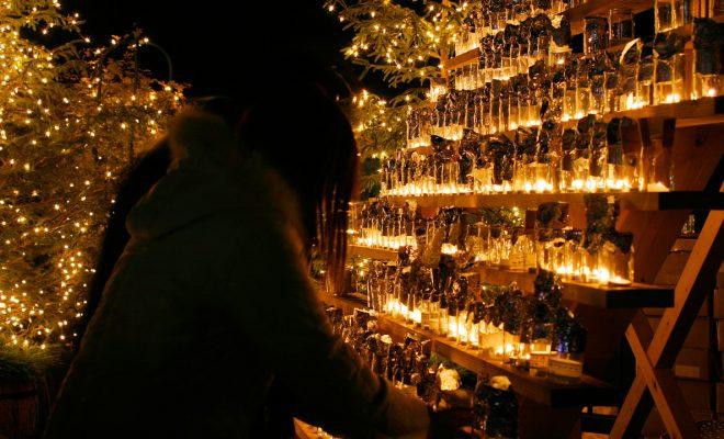 今年のイブは『Love&Peaceキャンドルイルミネーションin下呂温泉』へ - candle 660x400