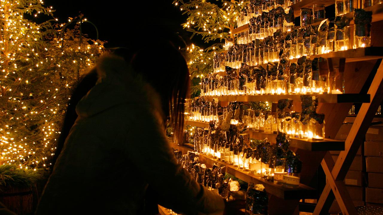 今年のイブは『Love&Peaceキャンドルイルミネーションin下呂温泉』へ - candle