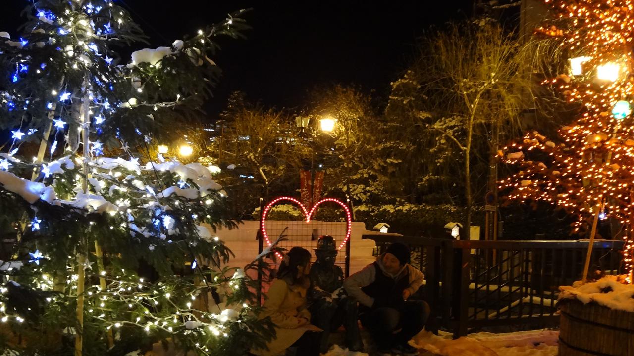 今年のイブは『Love&Peaceキャンドルイルミネーションin下呂温泉』へ - chaplin