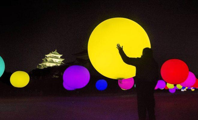 インスタ映え必至「チームラボ 浮遊する、呼応する球体 - 名古屋城」14日まで - 13563 660x400