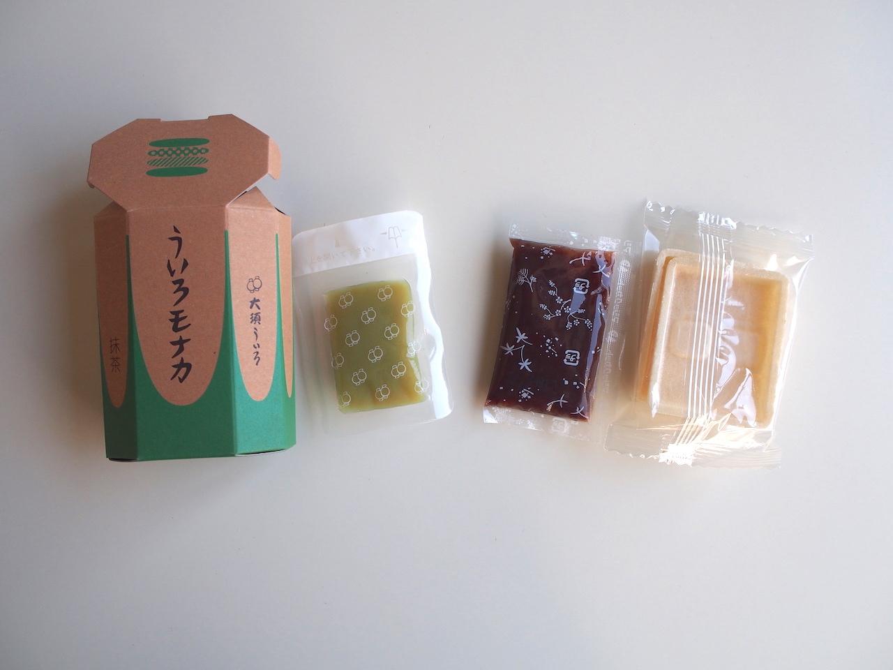 女性向け・名古屋土産の新定番!大須ういろの『ウイロバー』&『ういろモナカ』 - PC220086
