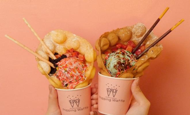 大須の新定番スイーツ!台湾・NY育ちのワッフルアイス『ポッピング ワッフル』 - brand popping waffle gallery food 05 1