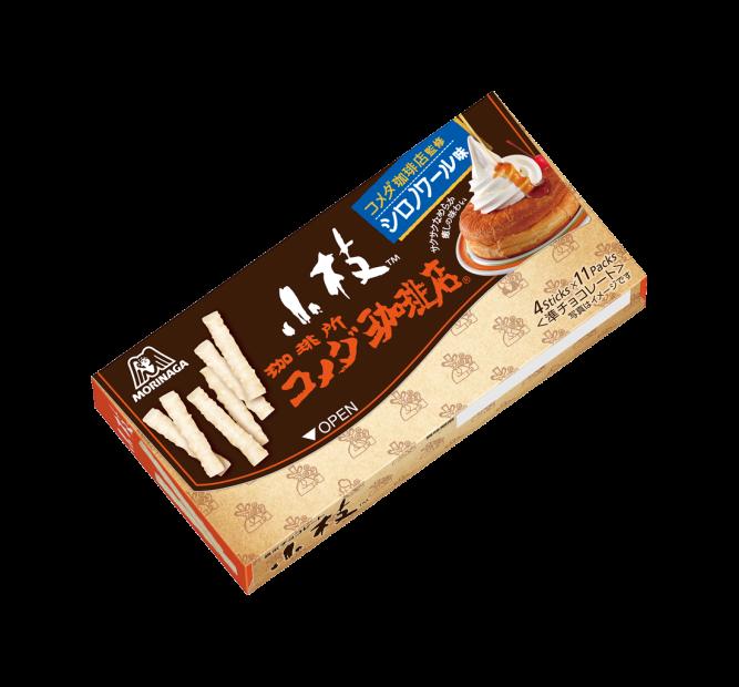 手軽に『シロノワール』が味わえる!森永「小枝<シロノワール味>」1月23日発売 - img 146781 2 667x620