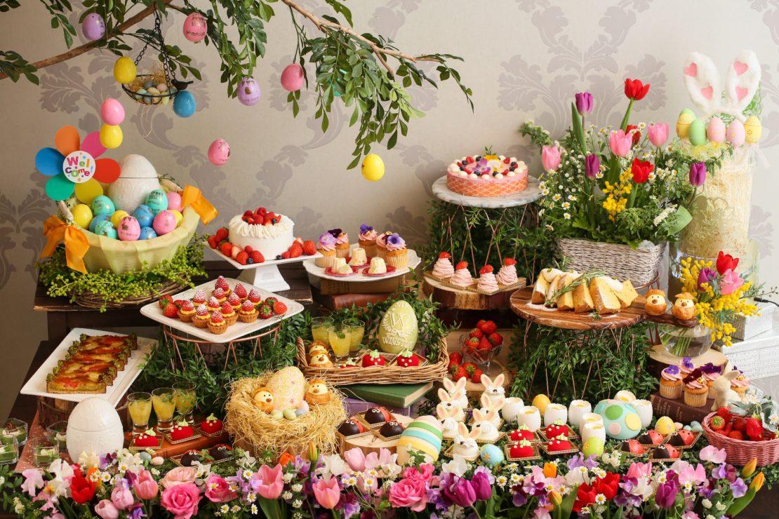 インスタグラマー必見。可愛いデザートに囲まれて、イースターを祝おう!
