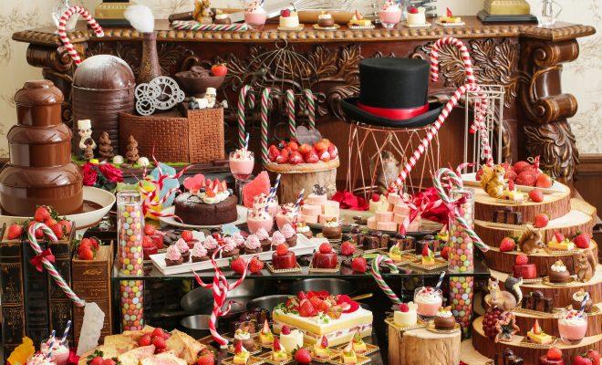 苺とチョコレートの甘い時間。八事で「バレンタインデザートブッフェ」を楽しむ - main 660x400