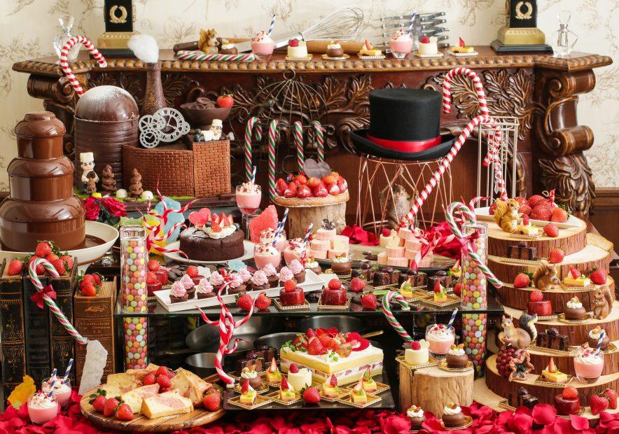 苺とチョコレートの甘い時間。八事で「バレンタインデザートブッフェ」を楽しむ - main 884x620