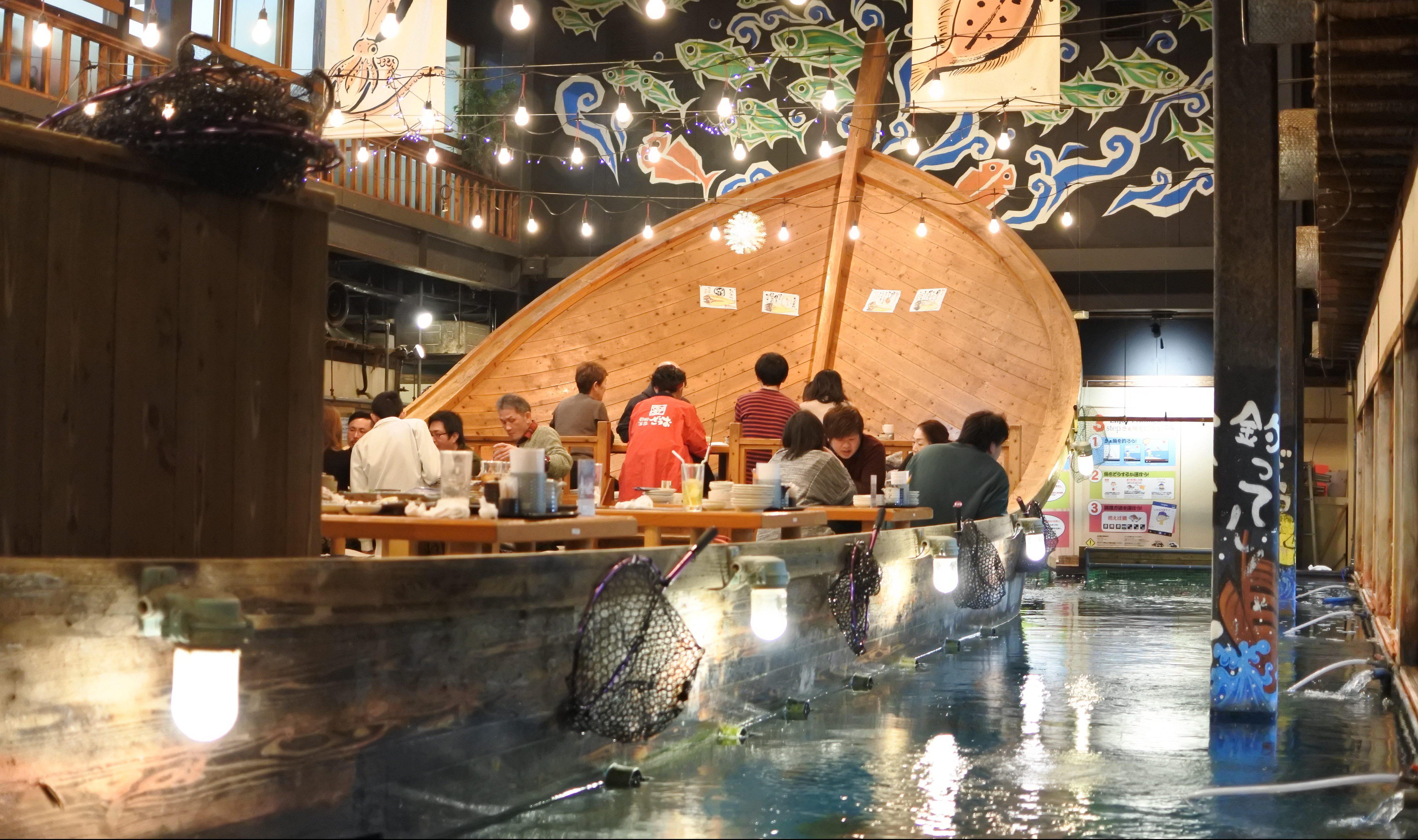 自分で釣った魚が食べられる!『釣船茶屋 ざうお小牧店』で釣り体験をしてきた - DSC 1109 e1519104437944