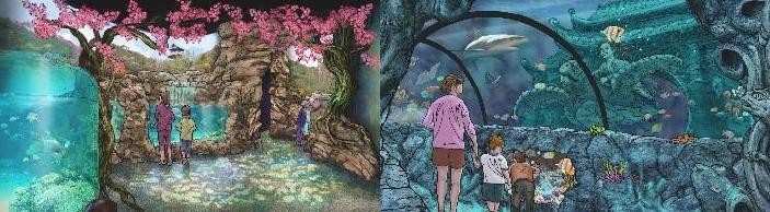 世界で人気の子ども向け水族館 『SEA LIFE Nagoya』4月15日誕生 - 0d40a5e4a645fc6b96e767d64ac0878e