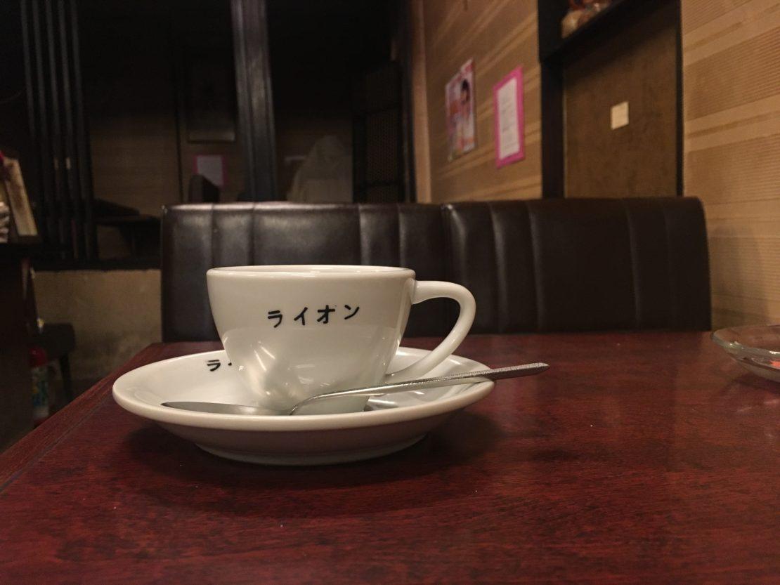 栄・広小路通の老舗喫茶店「コーヒー専門店ライオン」がリニューアルのため閉店