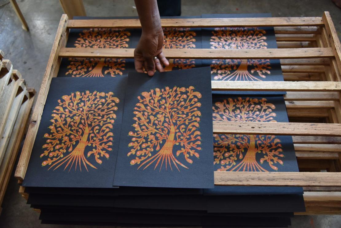 今注目の南インドの出版社「タラブックス」の展覧会が刈谷市美術館で開催