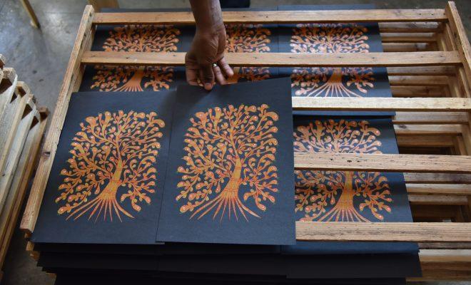 今注目の南インドの出版社「タラブックス」の展覧会が刈谷市美術館で開催 - DSC 8339 660x400