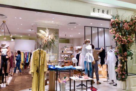 インスタ女子注目の「ETRÉ TOKYO」東海地区初出店!