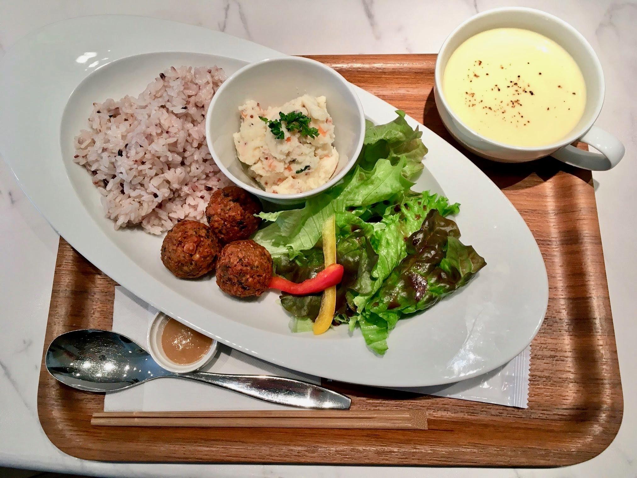 卵、牛乳、小麦粉を使わない野菜カフェ、東別院「en-kitchen cafe」 - IMG 7088