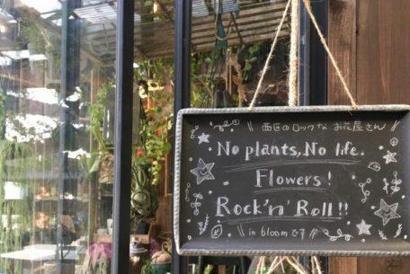 可愛くてロック!名古屋のはずれにあるお花屋さん「in bloom」