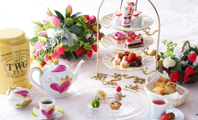 【イチゴが食べ放題!】『ストロベリーアフタヌーンティー』で贅沢にビタミン補給を - main 660x400