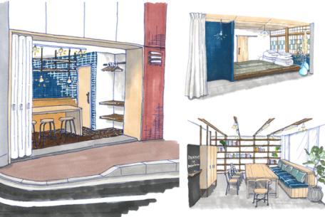 美濃加茂の空きビルをリノベーション。人々が集うコミュニティビル「MINGLE」