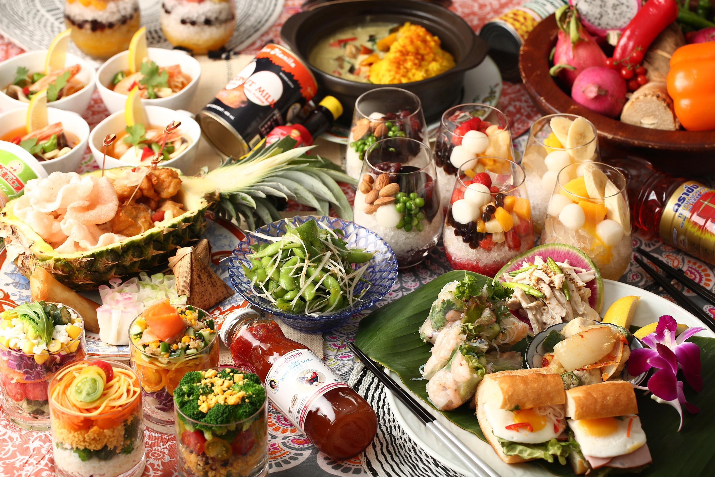 期間限定!フォトジェニックなアジアンリゾート空間で、美味しい料理に舌鼓『アジアン ビアガーデン』開催 - sub2 2