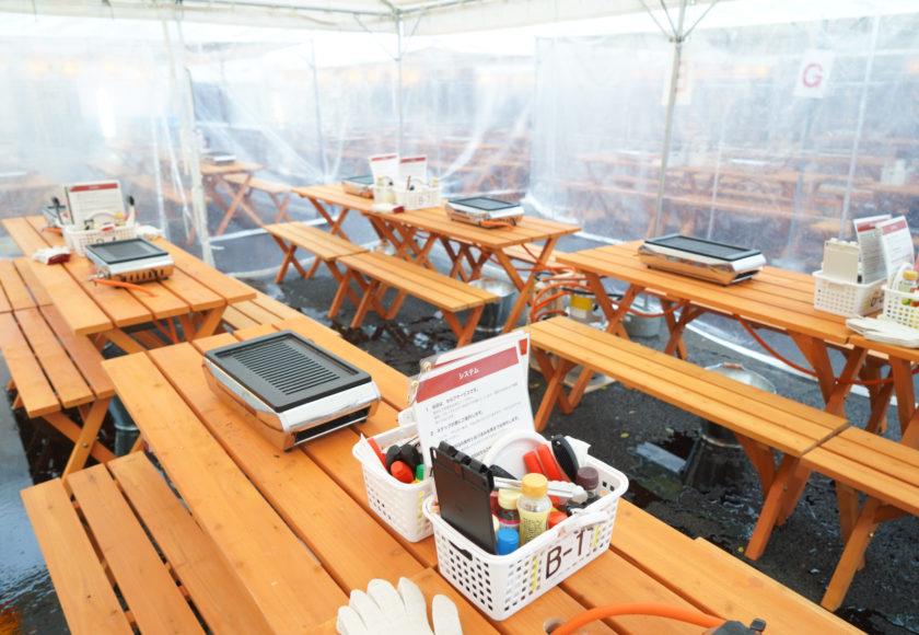 金シャチ横丁にビアガーデンがオープン!名古屋初の海鮮BBQ食べ放題&飲み放題 - DSC03536 840x580