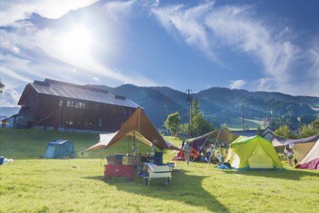 日帰りでも!キャンプ宿泊でも!夏を遊びつくす『めいほう高原キャンプフィールド』