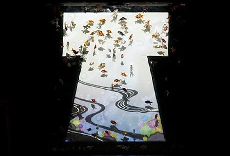 金魚が誘う、魅惑的な世界。『アートアクアリウム2018』が名古屋・松坂屋で開催 - ph Kimonorium 01 temp