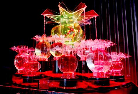 金魚が誘う、魅惑的な世界。『アートアクアリウム2018』が名古屋・松坂屋で開催 - ph OoOku 01 temp