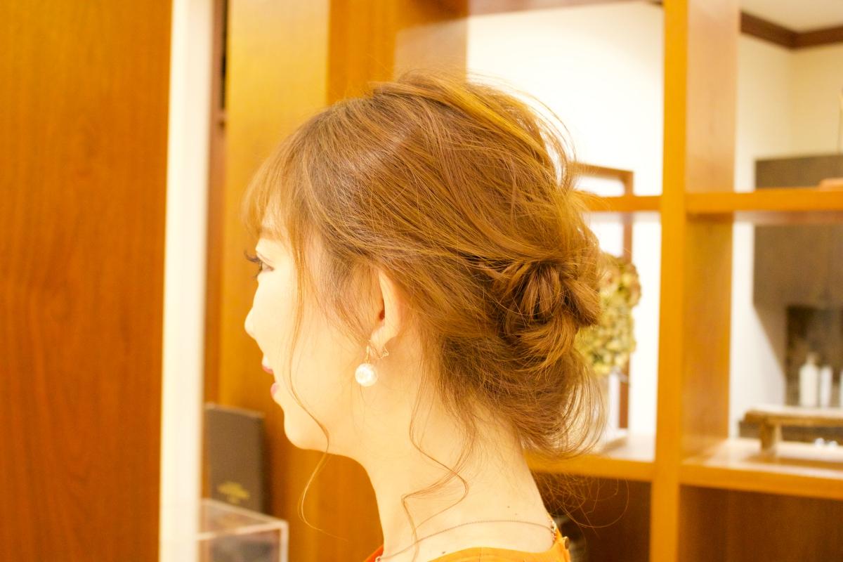 松坂屋南館『サロン ド ボーテ レイエレガンス』で浴衣を彩る夏らしいヘアアレンジを体験! - reielegance16