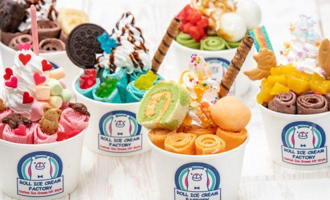インスタ映えで話題、ロールアイス専門店「ROLL ICE CREAM FACTORY」が6/28に栄でオープン - sub10 660x400