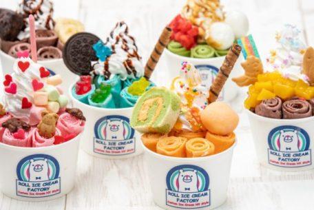 インスタ映えで話題、ロールアイス専門店「ROLL ICE CREAM FACTORY」が6/28に栄でオープン