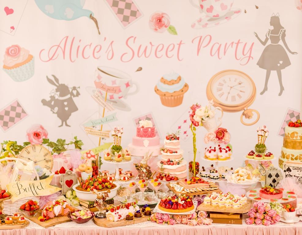 不思議の国のデザートが楽しめる!『アリスのスイートティーパーティー』 - sub11
