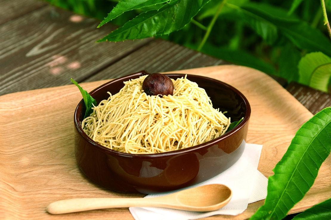 秋の味覚を味わうなら、恵那川上屋の巨大モンブラン「栗一筋」がおすすめ!
