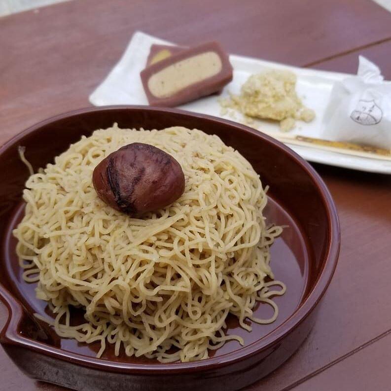 秋の味覚を味わうなら、恵那川上屋の巨大モンブラン「栗一筋」がおすすめ! - sjha