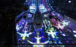 「FLIGHT OF DREAMS」チームラボの展示は、ボーイング実機を使用! - Fly with 787 Dreamliner 07 260x160