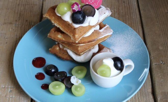 ケーキ屋さんが手掛ける焼きたてワッフルとスイーツのお店「Cafe WONDER」 - S  12189707 660x400
