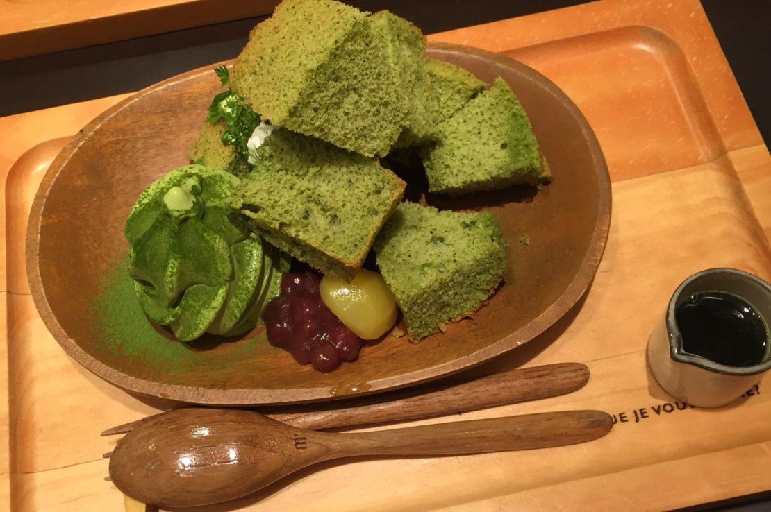 お茶づくしのスイーツがたまらない!『深緑茶房 茶カフェ』でほっと一息