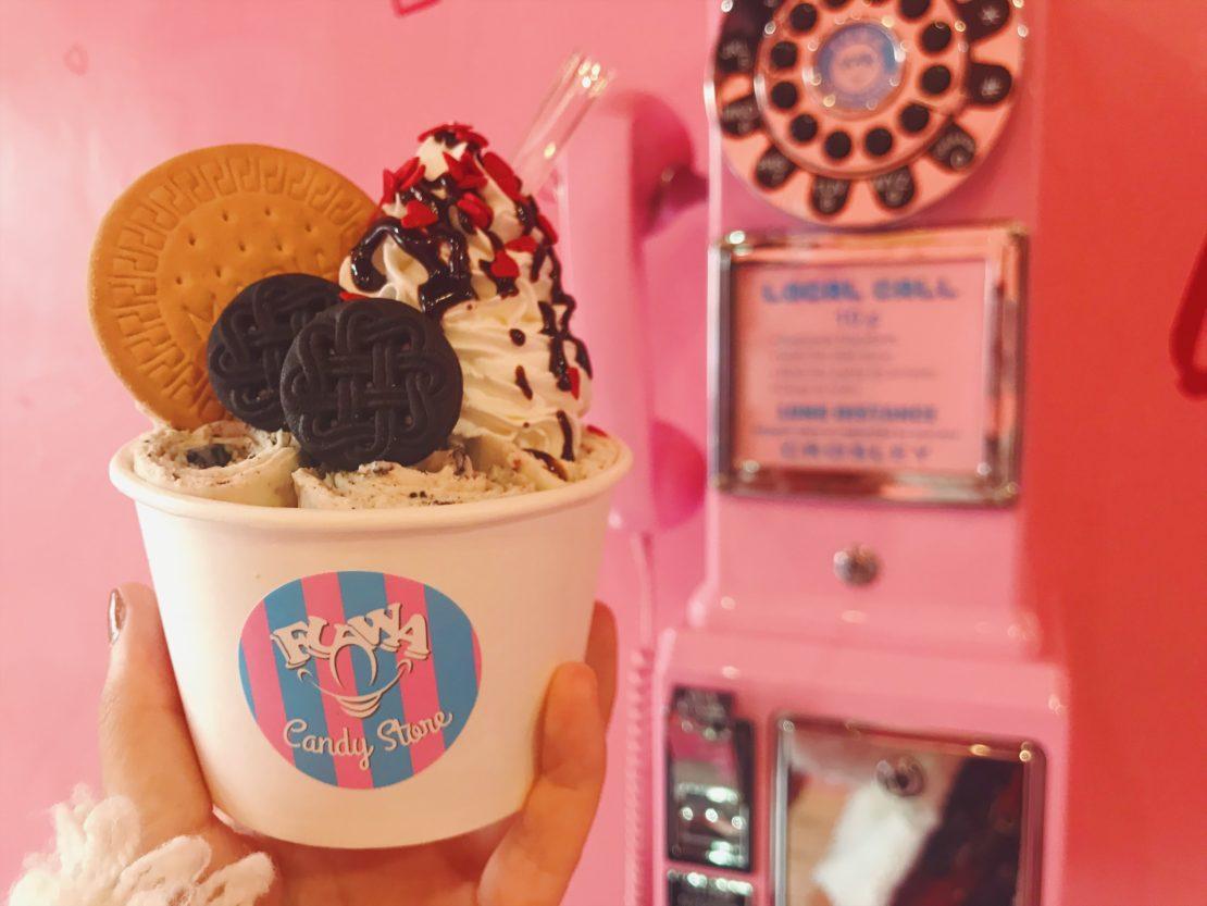 大須のロールアイスクリームは『FUWA CANDY STORE』で決まり!