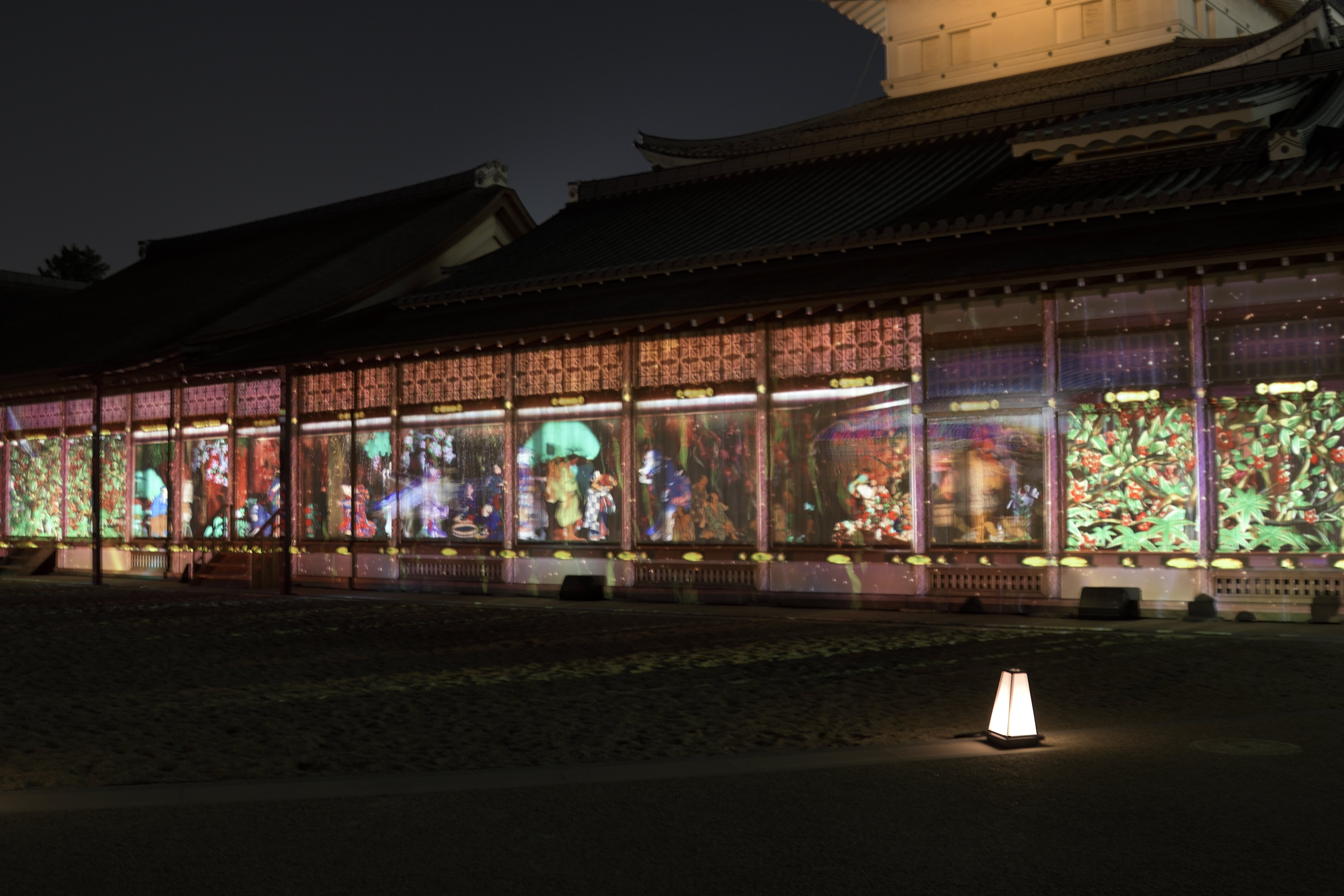 12月16日(日)まで、「名古屋城×NAKED」魅惑の夜景イベントを満喫してきた - DSC2426 min