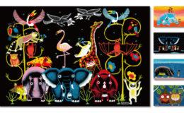 日本人画家SHOGENが描く ユニークで「人々を幸せにする」アフリカンアート展が栄で開催! - main 1 260x160