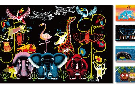 日本人画家SHOGENが描く ユニークで「人々を幸せにする」アフリカンアート展が栄で開催!