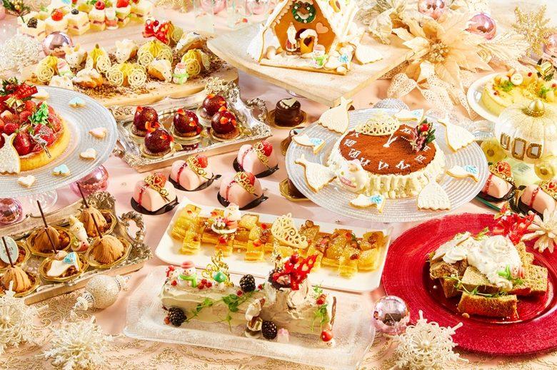今年は「シンデレラ×クリスマス」がテーマ! サーウィンストンのデザートブッフェ