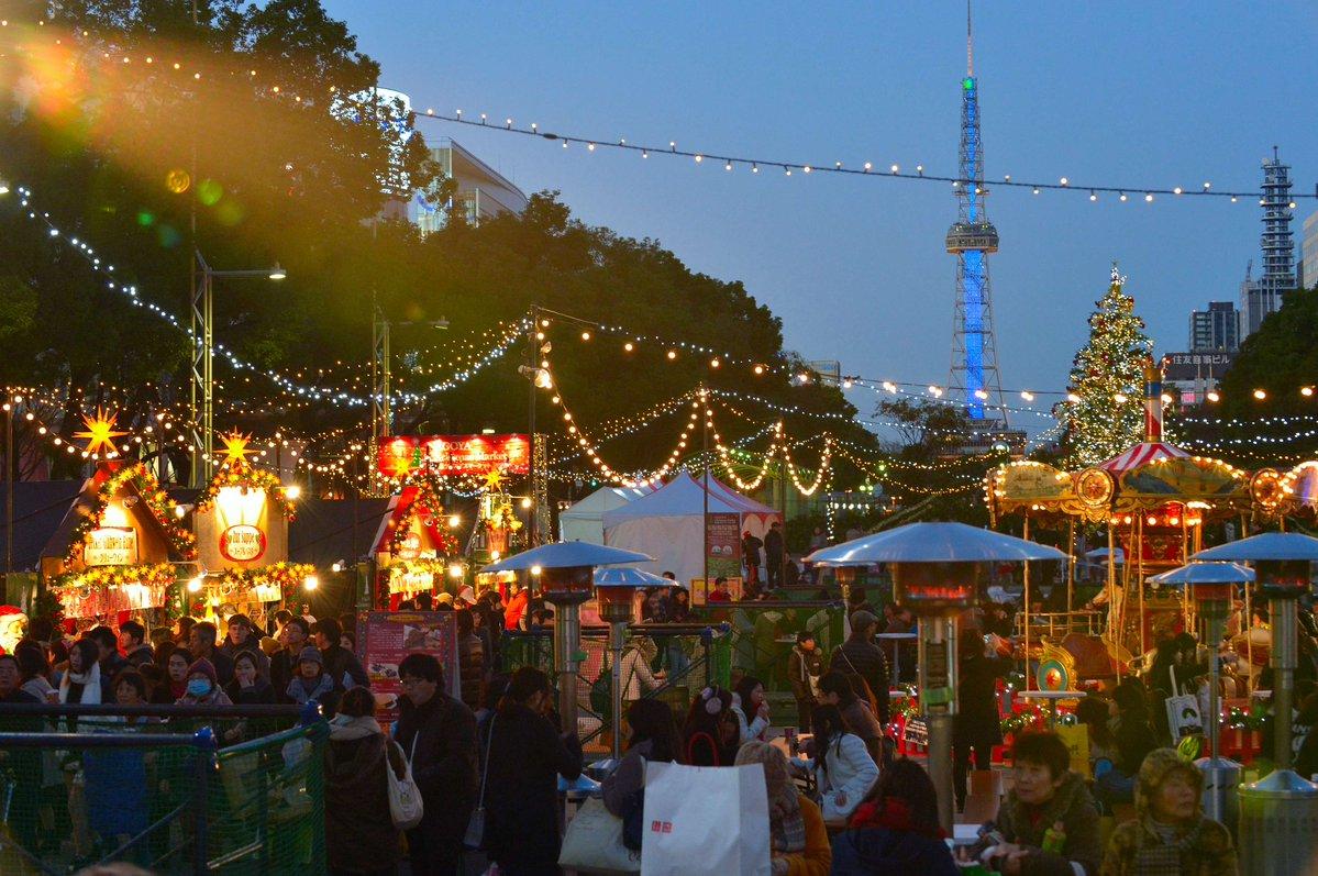 今年で6回目!ヨーロッパ伝統クリスマスマーケットが久屋大通で開催 - CM1