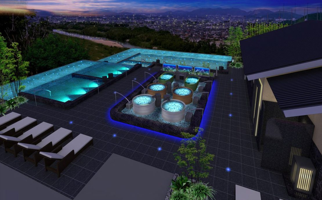 リニューアルオープン!新しくなった『天空スパヒルズ 竜泉寺の湯』の露天風呂や岩盤浴をチェック