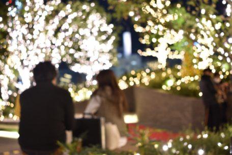 クリスマスデートならここ!!大名古屋ビルヂングスカイガーデンゴールドイルミネーション